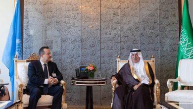 Photo of العساف يلتقي النائب الأول لرئيس وزراء صربيا