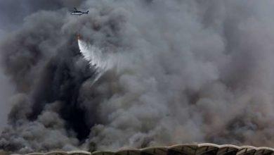 Photo of 11 مصـاباً في حريق محطة قطار الحرمين