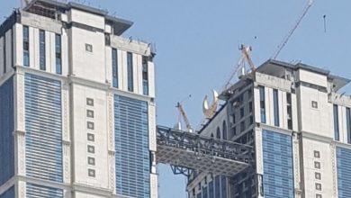 Photo of أعلى مصلى معلق في العالم يطل على الحرم المكي
