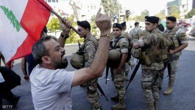 Photo of أنتشار الجيش اللبناني بكثافة وفتح طرقا بالقوة