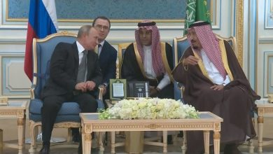 Photo of جلسة مباحثات بين ملك الحرمين والرئيس الروسي