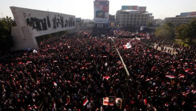 Photo of مظاهرات ضد الفساد في العراق تنتهي بصدامات مع قوات الامن