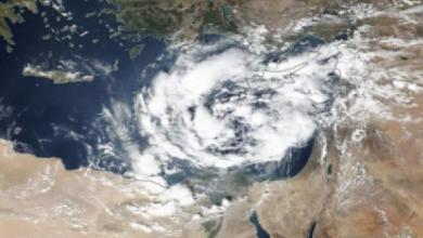 Photo of إعصار مداري كتل سحابية عملاقة تقترب من أجواء مصر