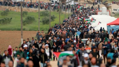 Photo of مسيرات العودة77 إصابة من قبل قوات الاحتلال وجمعه كسر الحصار