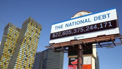 Photo of بيانات وزارة الخزانة الأمريكية تجاوز الدين الحكومي الأمريكي مستوى 23 تريليون دولار