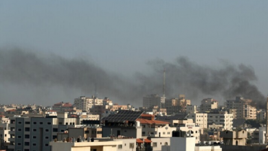 Photo of غارات جوية استهدفت مواقع لحركة حماس بشمالي قطاع غزة.