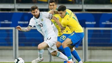 Photo of الأرجنتيني ليونيل ميسي نجم برشلونة الإسباني ينضم إلى صفوف منتخب بلاده