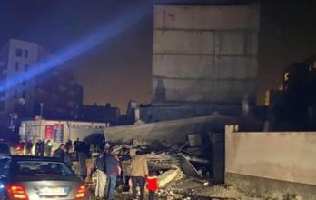 Photo of وزارة الدفاع الألبانية الزلزال الذي وقع عند حوالي الساعة الثالثة فجرا بلغت شدته 6,4 درجة