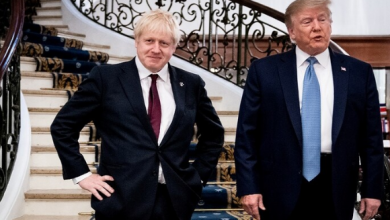 Photo of رئيس وزراء بريطانيا جونسون أعرب عن أمله في ألا يتدخل الرئيس الأمريكي دونالد ترامب في الانتخابات البريطانية المرتقبة