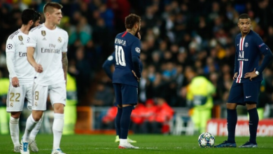 Photo of مباراة فريق ريال مدريد وضيفه باريس سان جيرمان (2-2)، ضمن الجولة الخامسة من دور المجموعات لدوري أبطال أوروبا لكرة القدم