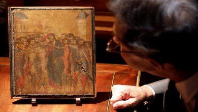 Photo of Christ Mock لوحة من القرون الوسطى بمطبخ فرنسية :بيعت في مزاد علني بـ24 مليون يورو