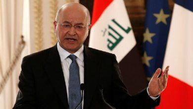 Photo of الرئيس العراقي يرفض تكليف العيداني برئاسة الحكومة ويهدد باستقالته