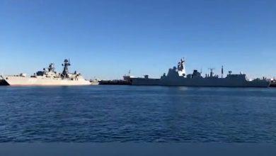 Photo of وزير الخارجية الإيراني : المناورات البحرية المشتركة بين بلاده وروسيا والصين أظهرت استعداد الدول الـ 3 لحماية الممرات المائية الأساسية