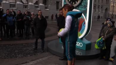 "Photo of مراسم إطلاق ساعة العد التنازلي لبطولة كأس الأمم الأوروبية لكرة القدم ""يورو 2020"""
