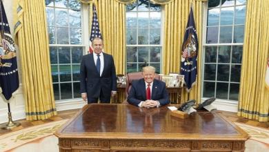 Photo of الرئيس الأمريكي دونالد ترامب أشاد باللقاء الذي عقده أمس الثلاثاء، مع وزير الخارجية الروسي سيرغي لافروف