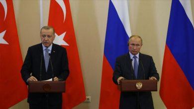 Photo of روسيا وتركيا اجتماعا على هامش مؤتمر برلين حول ليبيا برئاسة الرئيسين رجب طيب أردوغان و فلاديمير بوتين