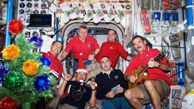 Photo of أفراد طاقم محطة الفضاء الدولية يستقبلون العام الجديد 15 مرة