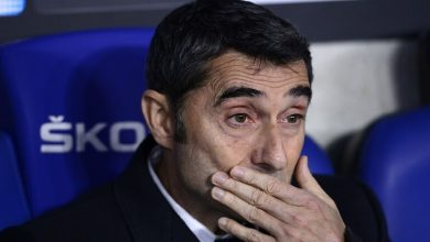 "Photo of إمكانية إقالة مدرب برشلونة إرنستو فالفيردي بعد خسارة ""البارسا"" أمام أتلتيكو مدريد، في نصف نهائي السوبر الإسباني."