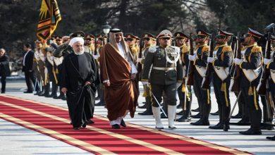 Photo of أمير قطر تميم بن حمد آل ثاني يصل طهران يلتقي المرشد الأعلى