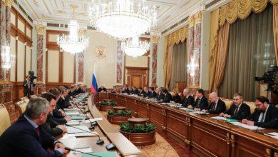Photo of الحكومة الروسية الجديدة برئاسة ميخائيل ميشوستين ضمت 21 وزيرا و9 نواب.