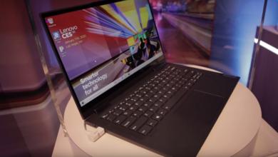 Photo of فيديو..Lenovo تعرض رسميا أول حاسب محمول لشبكات 5G