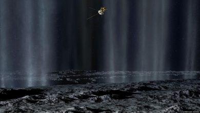 Photo of كشف العلماء أن وجود ثاني أكسيد الكربون تحت السطح المتجمد لأحد أقمار زحل