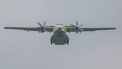 Photo of طائرة روسية جديدة للنقل العسكري تستبدل عجلاتها