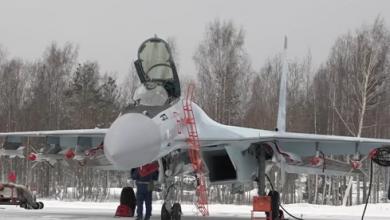 "Photo of مقاتلات ""سو-35"" المحدثة تختبر قدراتها على الطيران"