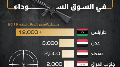 Photo of سعر بندقية M 16 في السوق السوداء