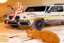 Photo of فيديو غريب لشاب يطلق النار وبجواره أسد وسيارة مليئة بالأسلحة ملطخة بالدماء في الرياض