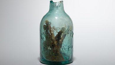 """Photo of العثور على """"زجاجة ساحرة"""" لدرء الأرواح الشريرة في ولاية أمريكية"""