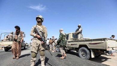 Photo of إسقاط طائرة استطلاع مسيرة تابعة لقوات التحالف العربي في محافظة الحديدة غرب اليمن.