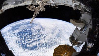 Photo of صورة تبدو من الخيال تنشرها ناسا لرائدها في الفضاء