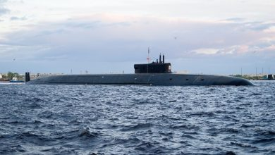 Photo of البحرية الروسية تتسلم غواصة نووية استراتيجية