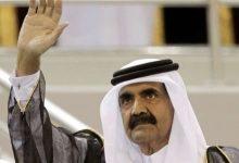 "Photo of بالفيديو : مكالمة مسربة لأمير قطر السابق ""حمد بن خليفة"" مع القذافي يشتم أوباما ويصفه بالعبد !"