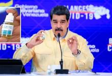 """Photo of رئيس فنزويلا يعرض """"قطرات"""" تعالج كورونا بنسبة 100% .. ويعلق: معجزة وعجيبة !"""