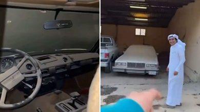 """Photo of سيارات قديمة فارهة """"مخزنة"""" في منزل بالمملكة لم تتحرك منذ شرائها"""