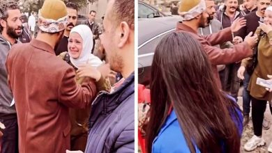 "Photo of انهيار معجبة عند رؤيتها ""محمد رمضان"" لأول مرة .. والفنان يفاجئها بردة فعله!"