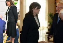 Photo of من هي المرأة الإسرائيلية التي ركع أمامها جو بايدن؟